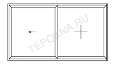 схема открывания смувио (1 вариант) теплые окна